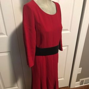 Lafayette 148 dress (with leather belt)—NWT